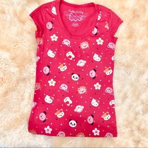 335ad5c2c Hello Kitty · SANRIO by doe women's pink character t-shirt tee